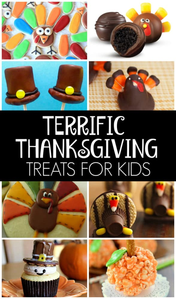 Terrific Thanksgiving Treats For Kids on Pretty My Party
