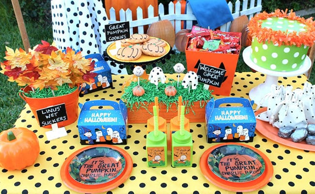 Great Pumpkin Charlie Brown Party