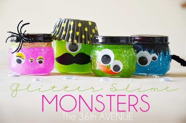 DIY Slime Monster Party Favors
