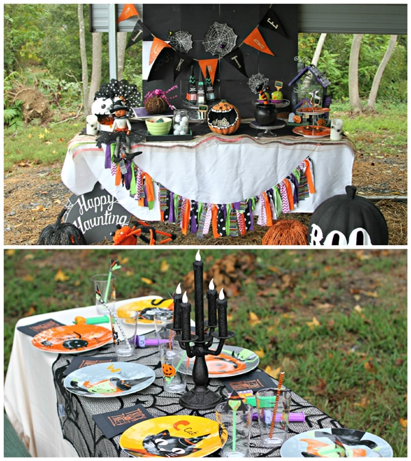 halloween-hayride-party-dessert-table-kids-table