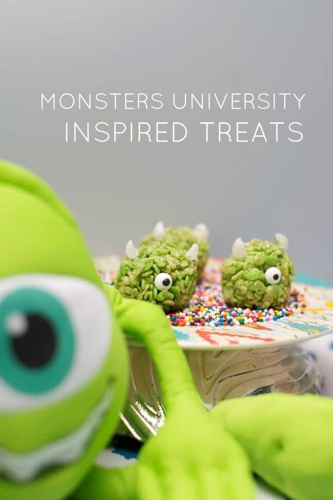 Monster Inspired Treats - Monster Birthday Party