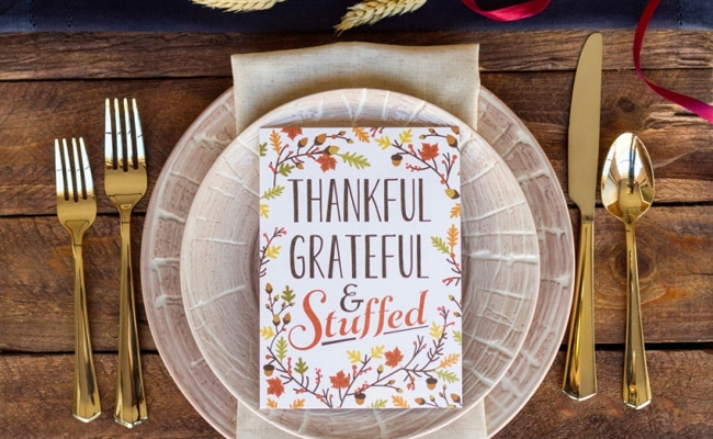 25 Creative Thanksgiving Place Setting Ideas - Pretty My Party