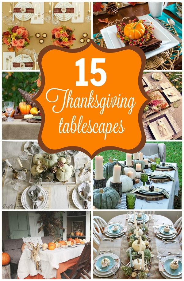 15 Stunning Thanksgiving Tablescape Ideas