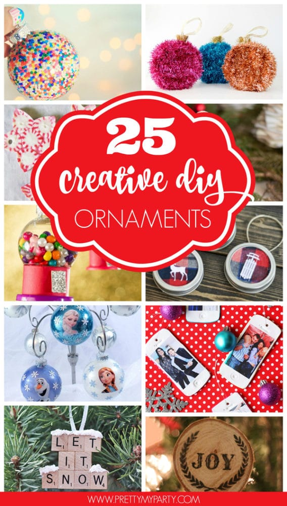 25 Super Creative DIY Ornaments