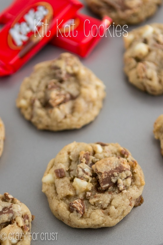 Kit-Kat Cookies - Christmas Cookies