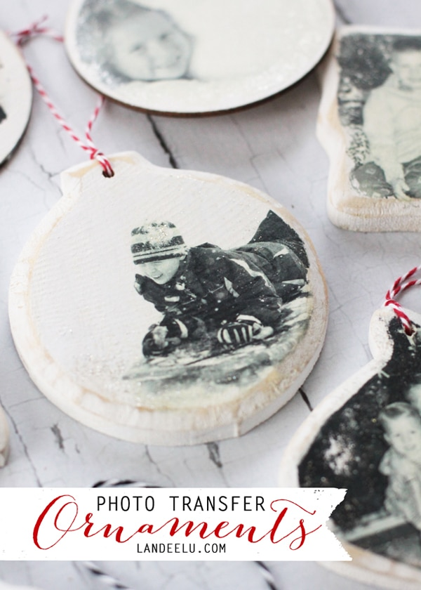 DIY Photo Transfer Ornaments - 25 Super Creative DIY Ornaments