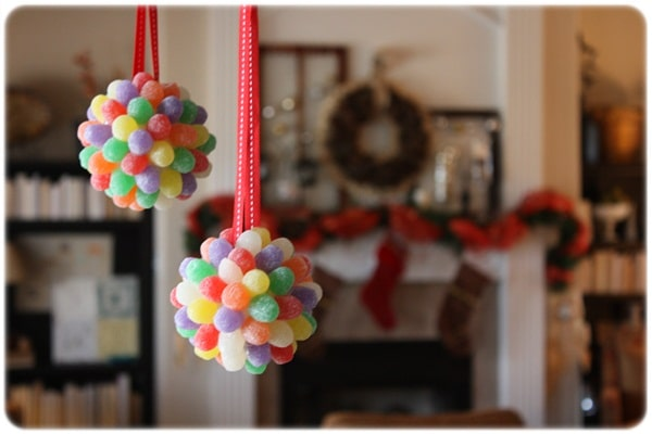 DIY Gumdrop Ornament - 25 Super Creative DIY Ornaments
