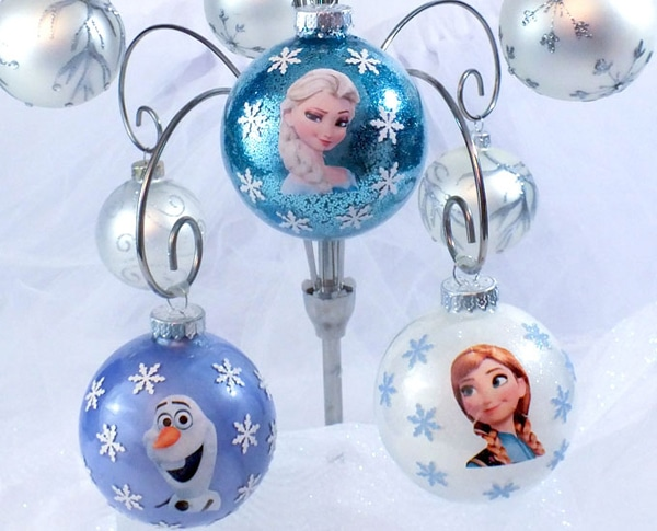 DIY Disney Frozen Ornaments - 25 Super Creative DIY Ornaments