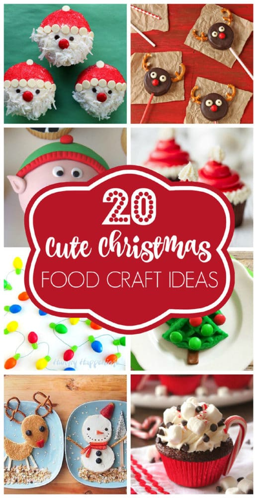 20 Cute Christmas Food Ideas Pretty My Party Party Ideas