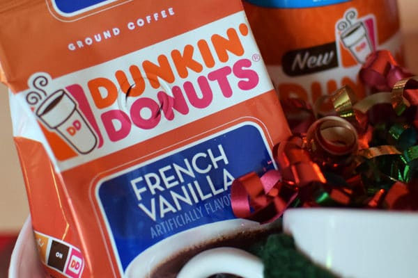 Dunkin Donuts Holiday Gift Basket