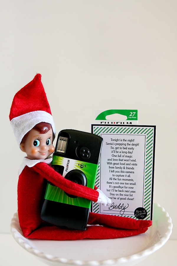 Free Elf on the Shelf Goodbye Note Printable