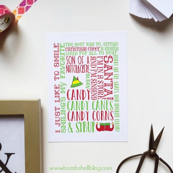 Free Elf on the Shelf Printable Cards