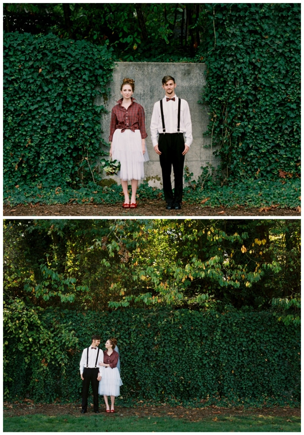 red-holiday-elopement-photos