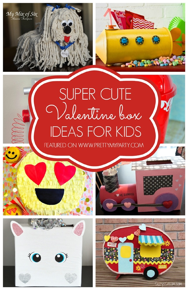 29 Adorable Diy Valentine Box Ideas Pretty My Party Party Ideas