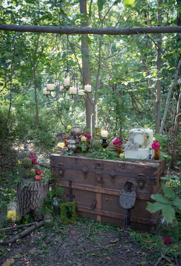 Enchanted Forest Birthday Party Pretty My Party Party Ideas