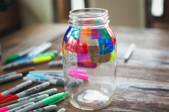 Mason-Jar-Sharpie-Project