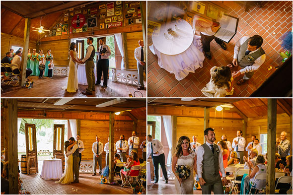Southern-Barn-Farm-Wedding-Ceremony