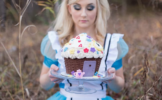 Alice in Wonderland Styled Shoot