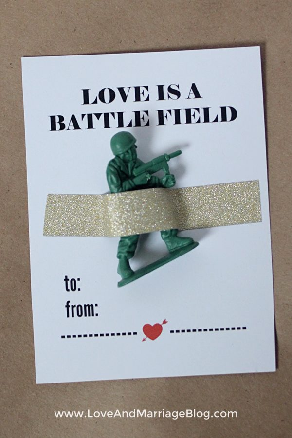 army-valentine-printable