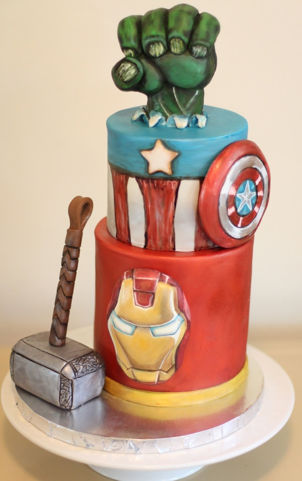 avengers birthday cake 10 awesome marvel cakes pretty my 1403