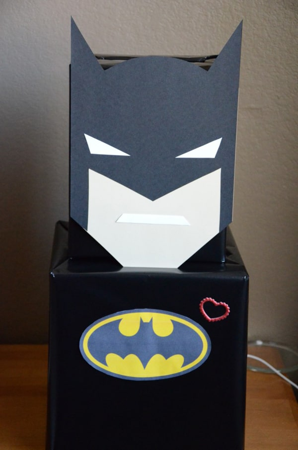 Batman Valentine Card Box
