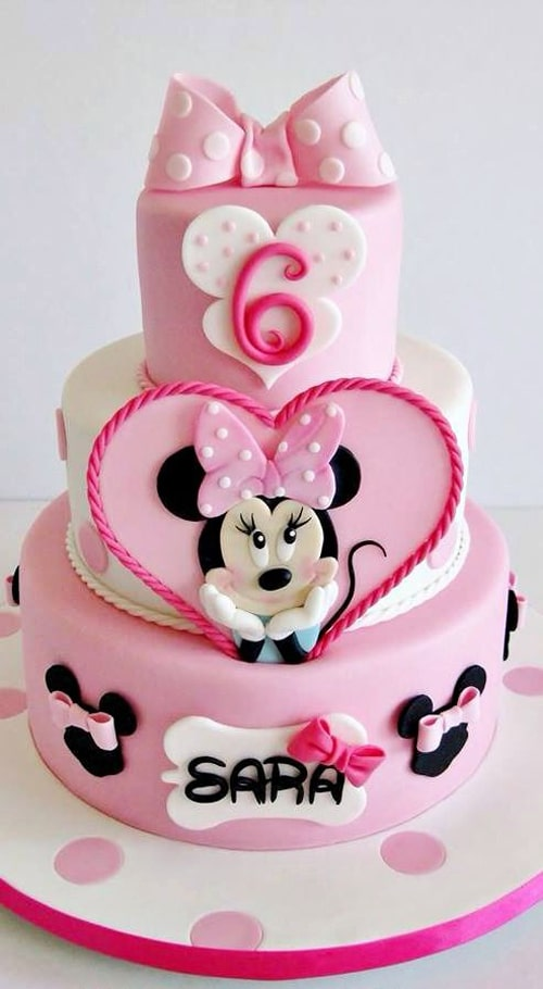 40 Cutest Minnie Mouse Cakes Everyone Will Love Pretty My Party Gorgeous Minnie Mouse Designer Cake Decorating Kit