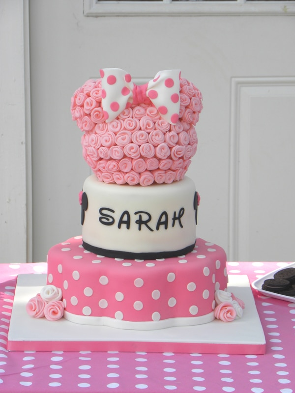 10 Cutest Minnie Mouse Cakes Everyone Will Love - Pretty My