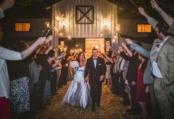 plantation-wedding-sparklers