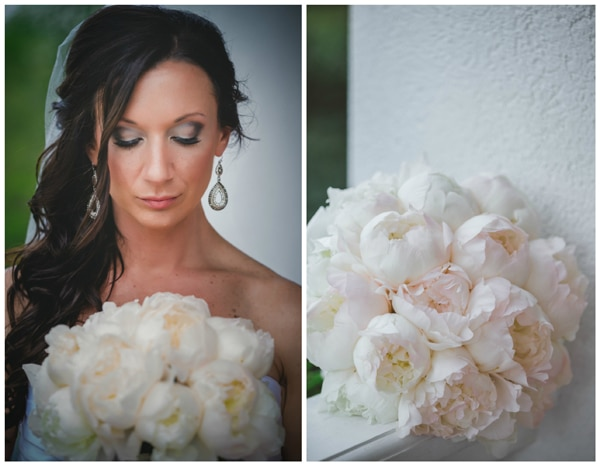 plantation-wedding-white-peonies-bouquet