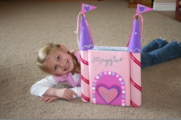 Princess Castle Card Box