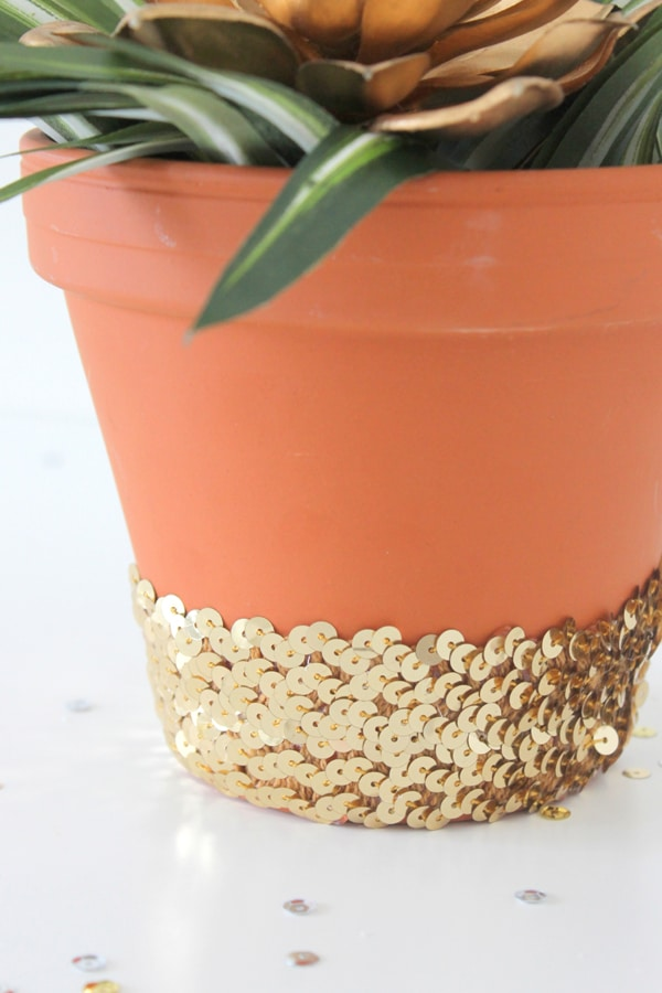 DIY-Sequin-Planter- 7