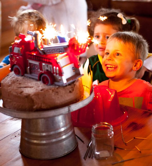 Fireman Birthday Bash Firefighter Party Ideas Pretty My Party