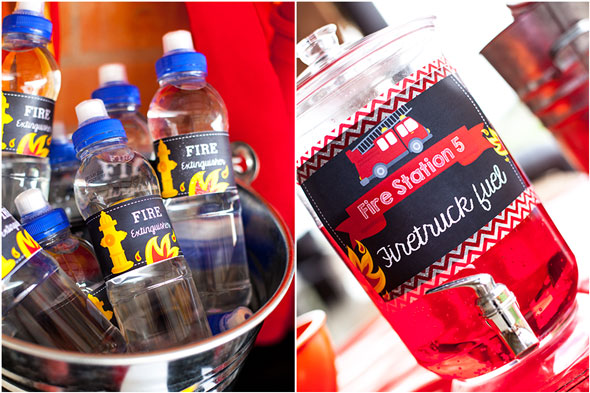 Fireman Party Drinks