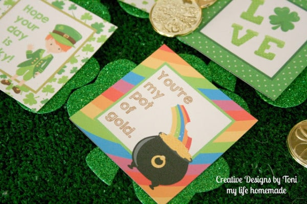 Free Lunch Box Notes For St. Patrick's Day