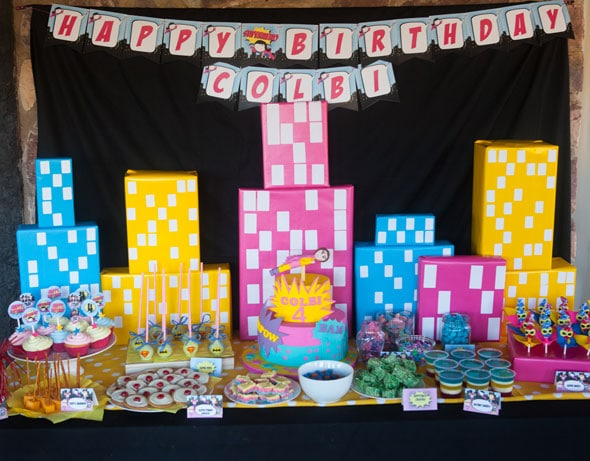 Super Girl Birthday Party | Pretty My Party