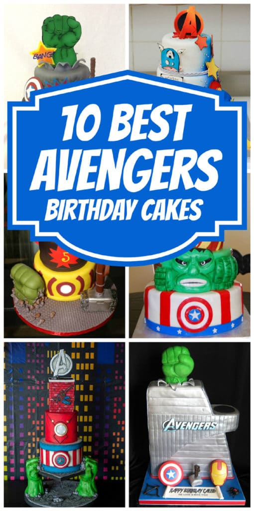 awesome-avengers-birthday-cakes