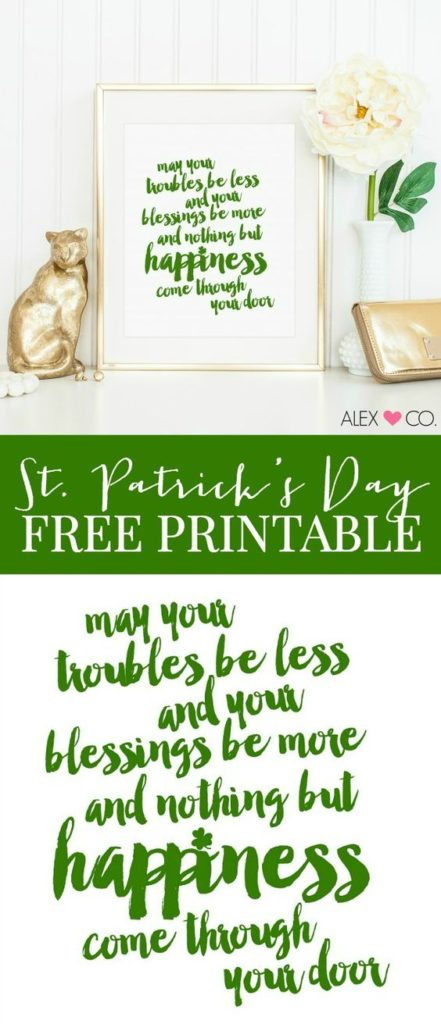 Free Irish Printable Sign