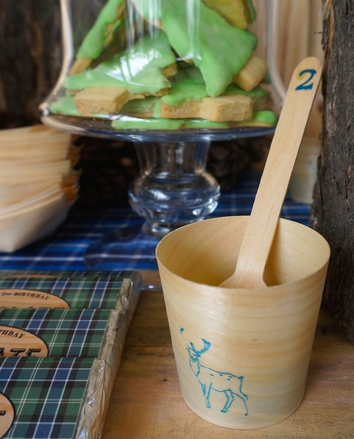 Wooden Cups and Spoons