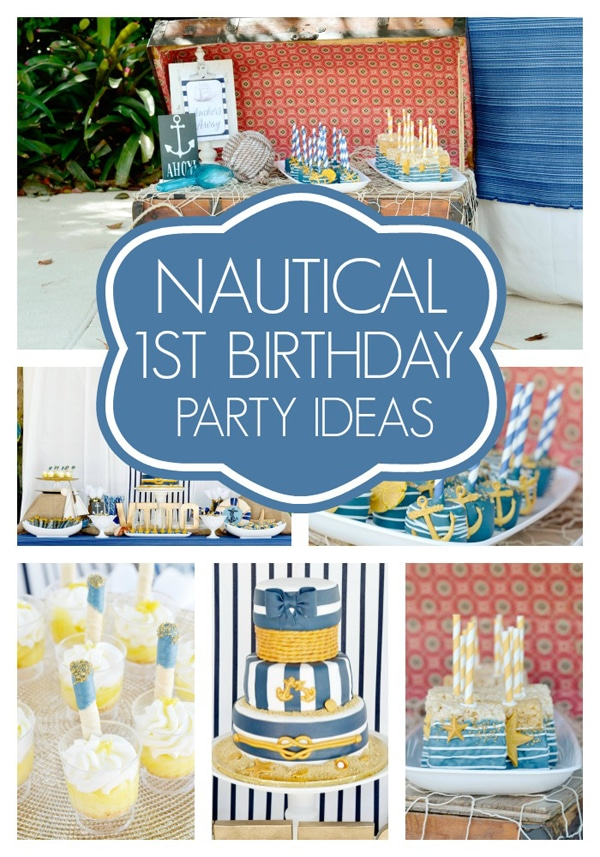 nautical-first-birthday-party-ideas
