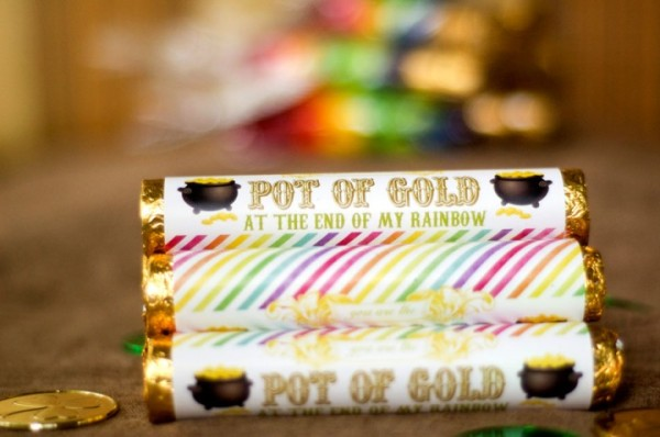 Free Pot Of Gold Candy Printables