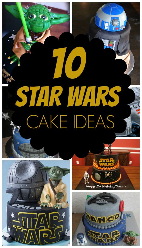 10 Out Of This World Star Wars Cakes Pretty My Party