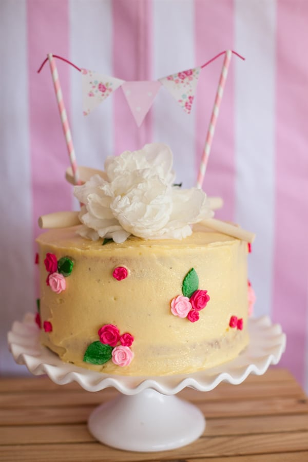 Shabby Chic Bake Shoppe Party Pretty My Party Party Ideas