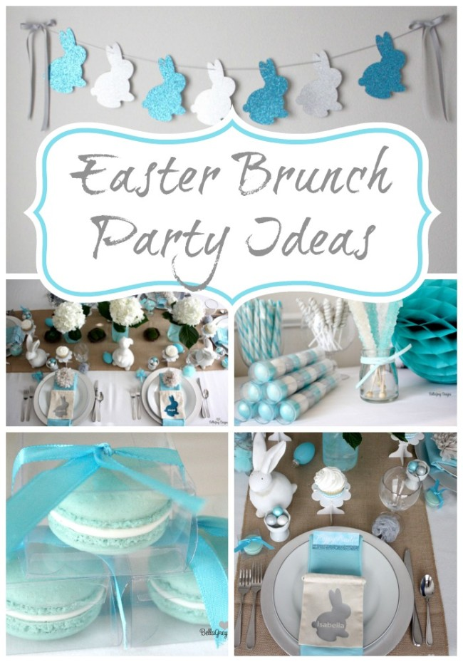 Easter Brunch Party Ideas