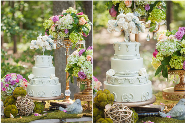 enchanted forest wedding cake ideas enchanted forest bridal photo shoot pretty my 14017