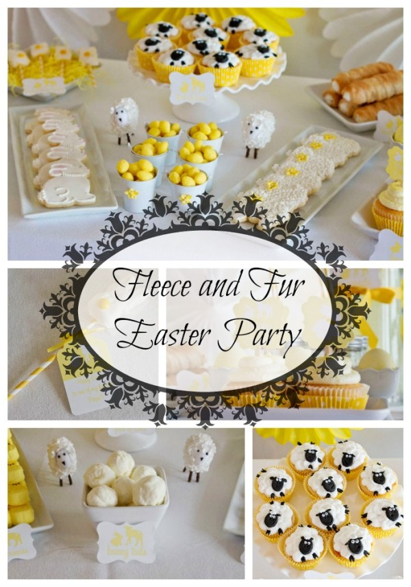Fleece and Fur Easter Party