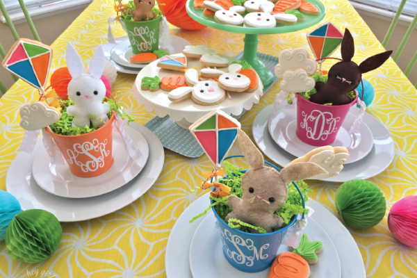Kids Easter Table