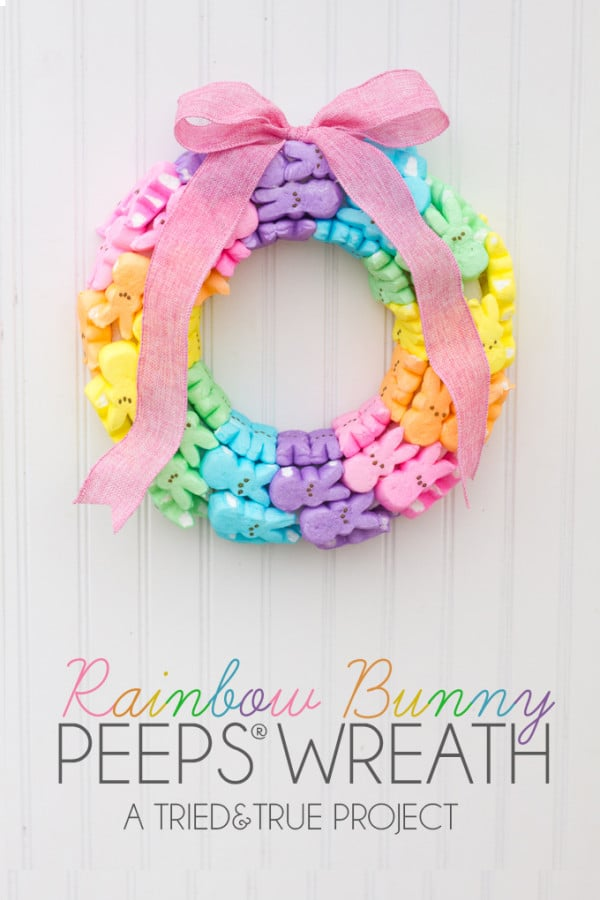 Rainbow-Bunny-Peeps-Wreath