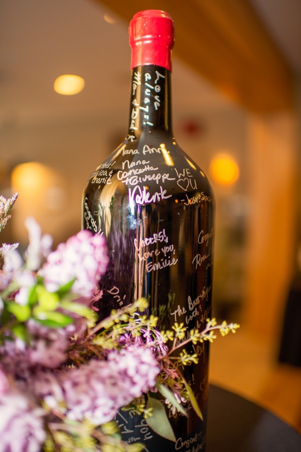 purple-wedding-wine-bottle-guest-book