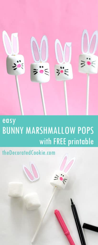 Free Easter Bunny Ear Printables