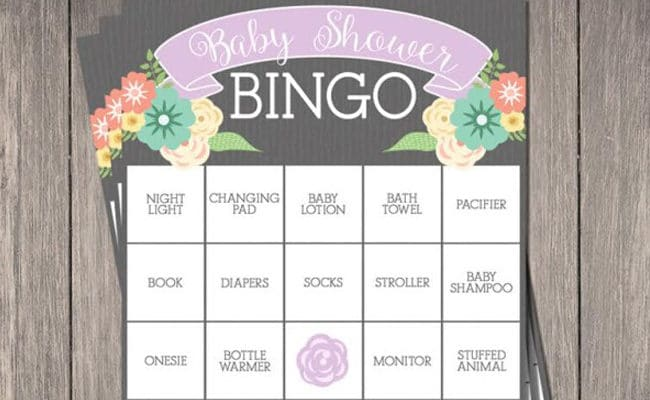 15 Free Baby Shower Printables